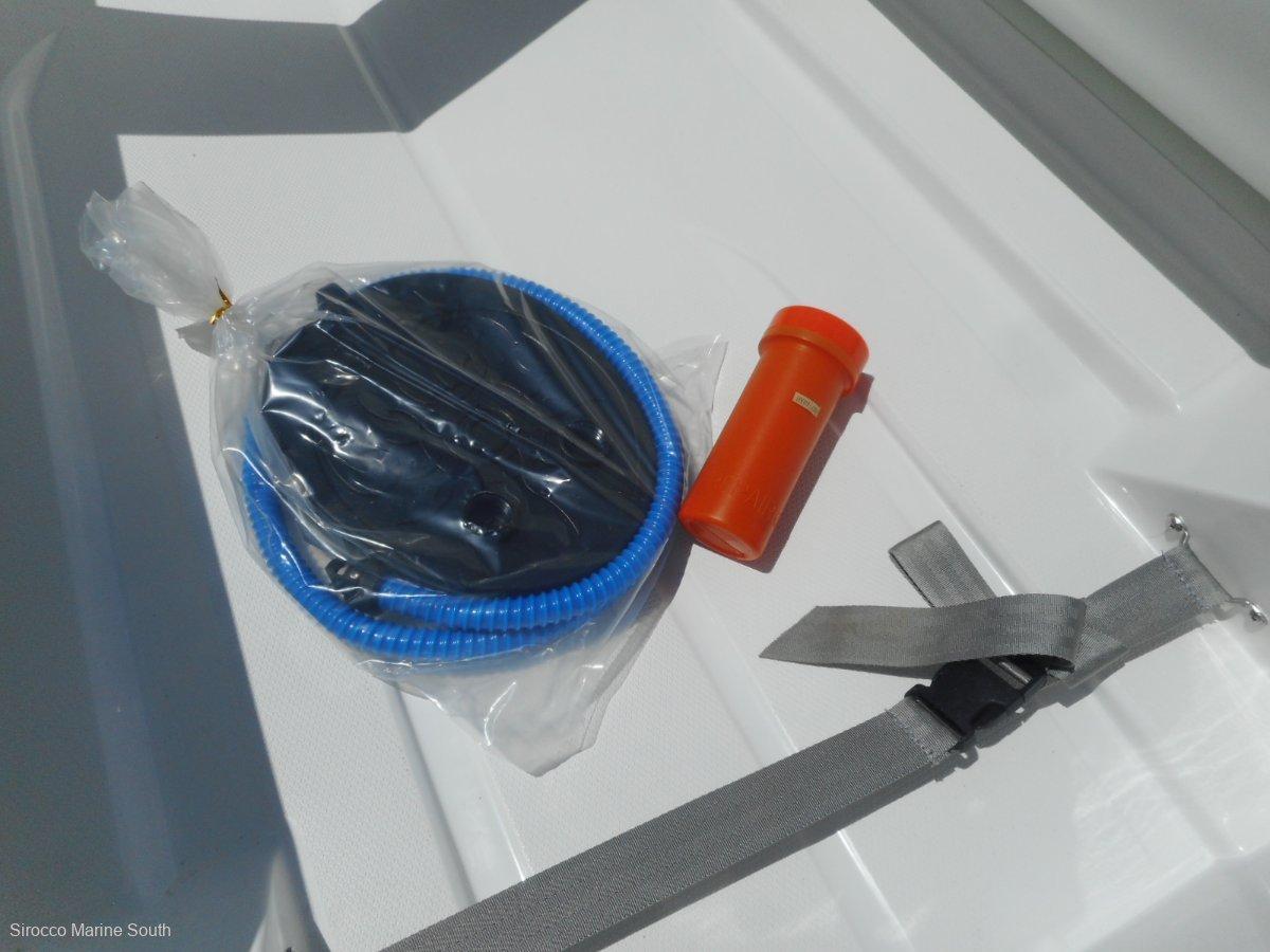 Sirocco Rib-FG 250 Hypalon tubes