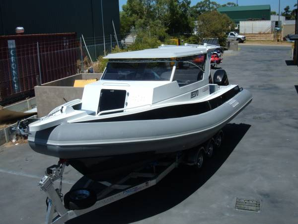 Preston Craft 8.5m RIB
