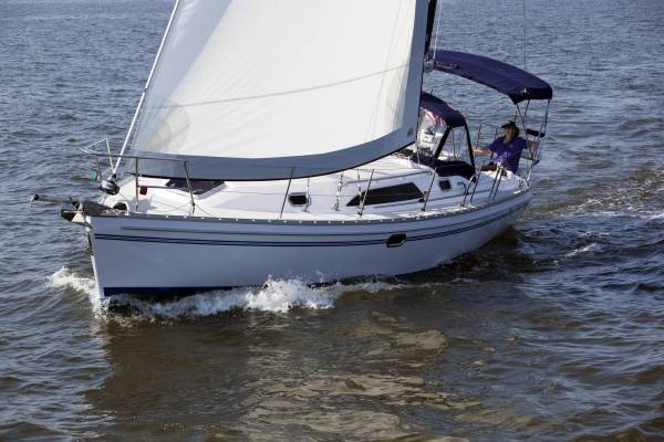 Catalina 355 Wing / Fin keel versions