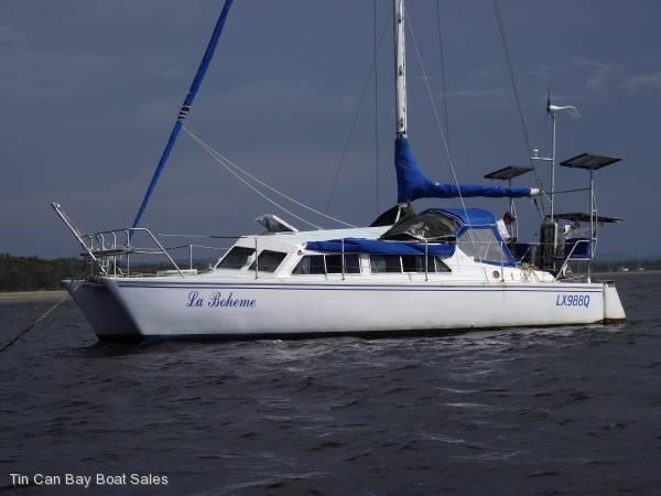 Prout Snowgoose Cruising sail catamaran
