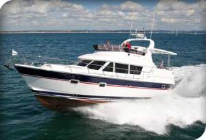 New Trader 42 Aft Cab Flybridge