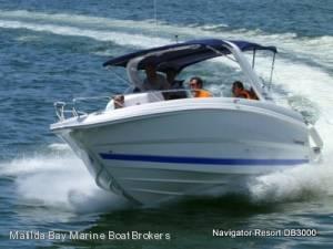 New MATILDA BAY - NAVIGATOR 3000 CONSOLE BOWRIDER