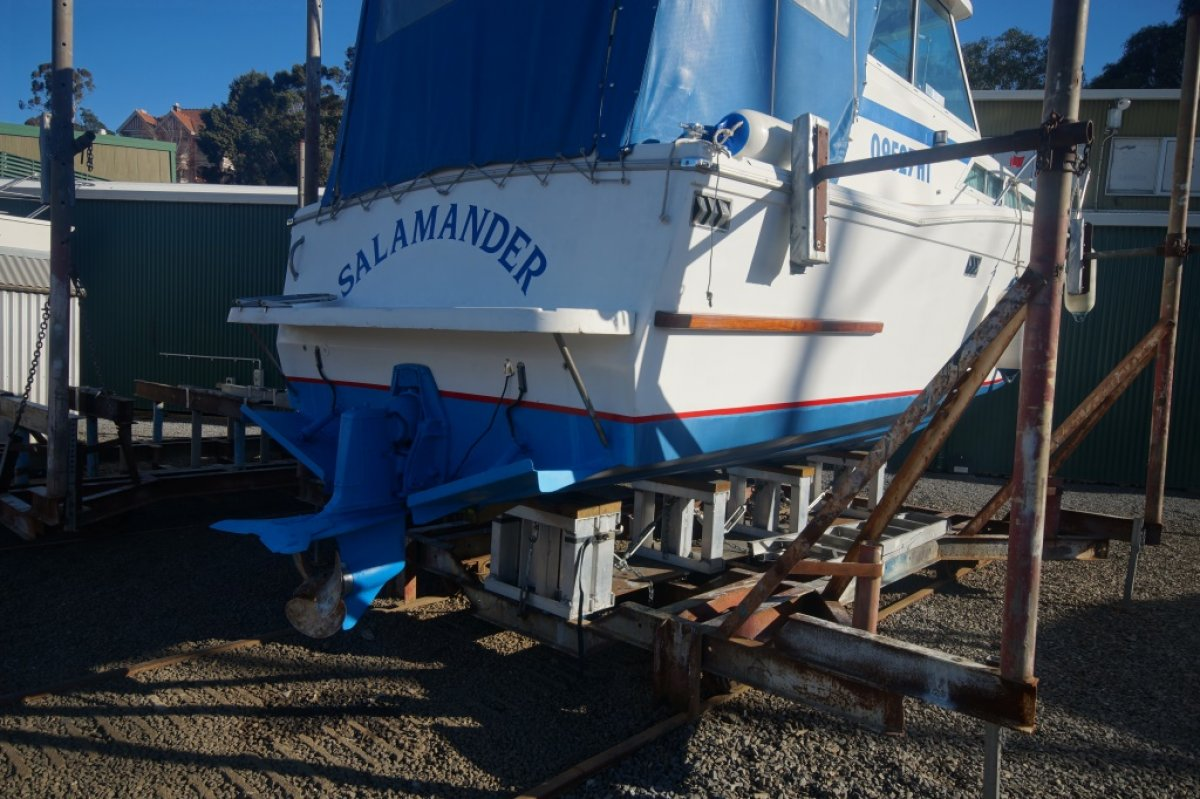 "Mariner 25 Flybridge ""Salamander"""