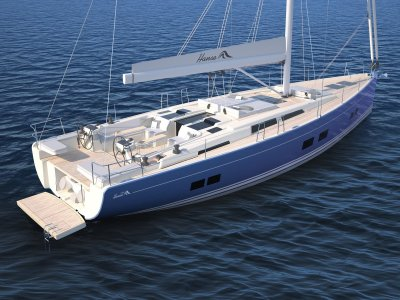 Innovative New Hanse 588 - First Model in New 8 Series