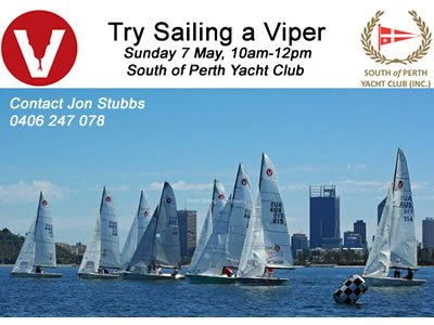 Try Sailing a Viper - 7 May, 2017
