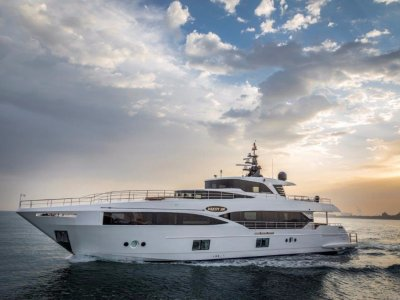 GULF CRAFT DELIVERS THE FIRST MAJESTY 100 (M/Y NAHAR)