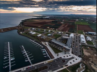 Wyndham Harbour Marina: Australia's newest marina, destined to be its largest