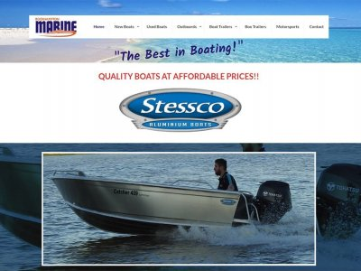 Boating Websites launches website for Rockhampton Marine - Massive Boat Sale Now On!