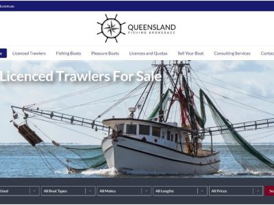 Boating Websites launches NEW website for Queensland Fishing Brokerage!