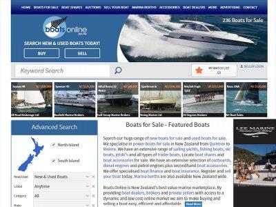 Boatsonline New Zealand website launch