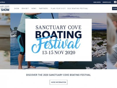 SANCTUARY COVE BOATING FESTIVAL 13-15 Nov 2020