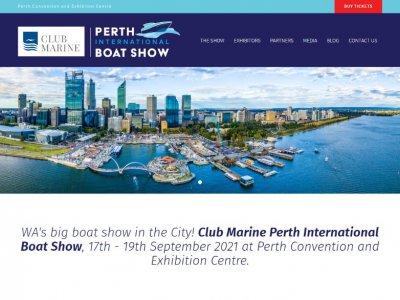 Club Marine Perth International Boat Show, 17-19 Sept 2021