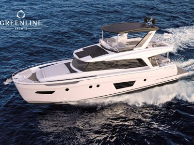 GREENLINE 58 FLY - Sustainable Boating With Electric, Diesel And Hybrid Propulsion Opportunities.